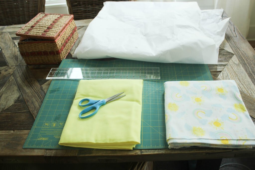 Supplies for gift baskets:How To Make Fabric Baskets You Will Love