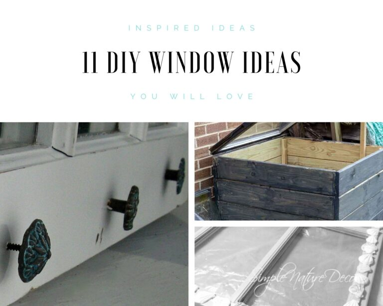 11 Creative DIY Window Ideas That You Will Love