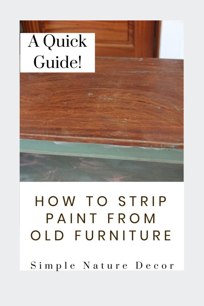 Guide on How To Strip Paint From Old Wood Furniture