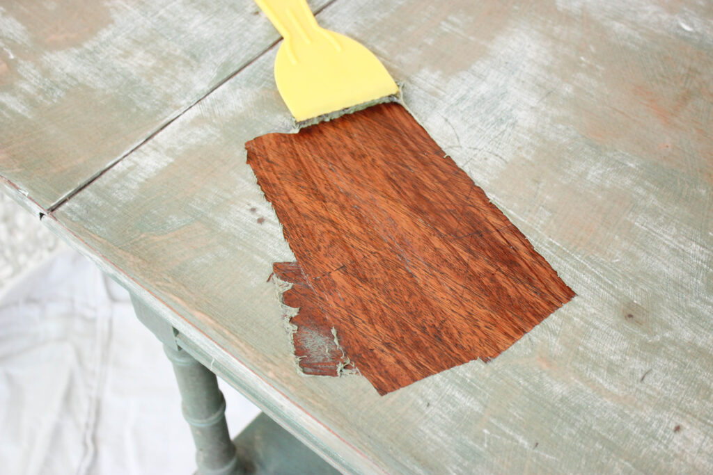 Stripping paint:How To Strip Paint From Old Wood Furniture