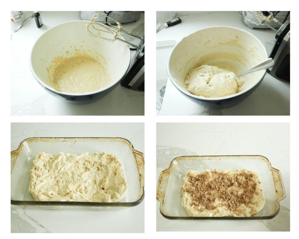 How to make sour cream cinnamon coffee cake recipe