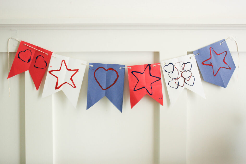 star spangled banner for kids on the wall