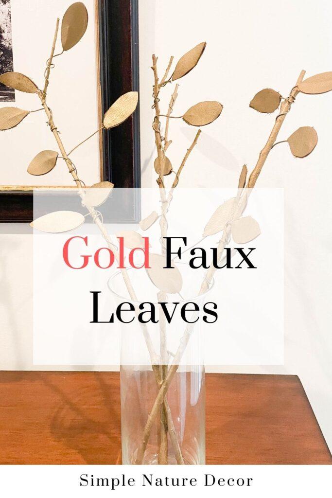 Faux Fall Leaves