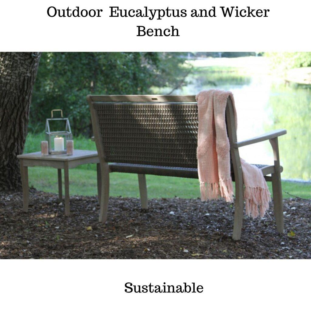 Garden bench:outdoor furniture ideas