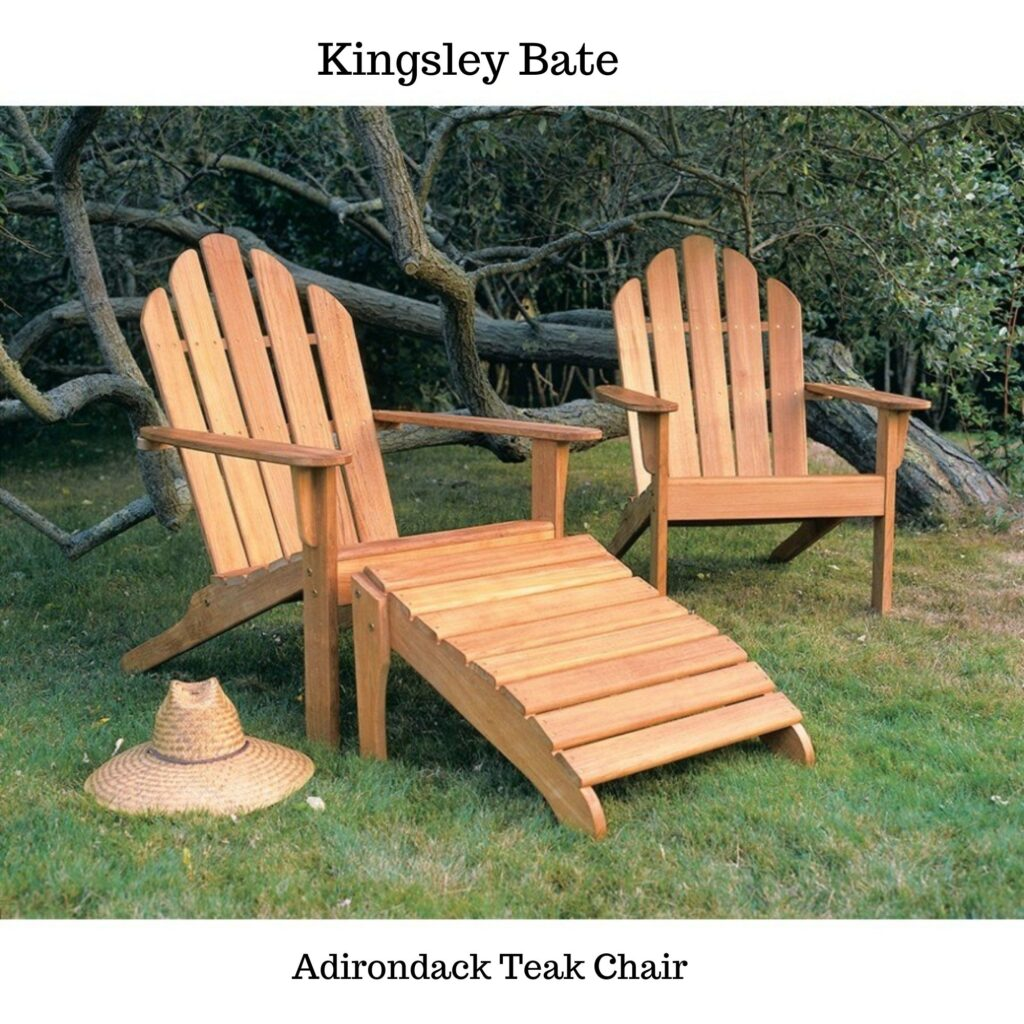 Adirondack chairs: outdoor furniture ideas