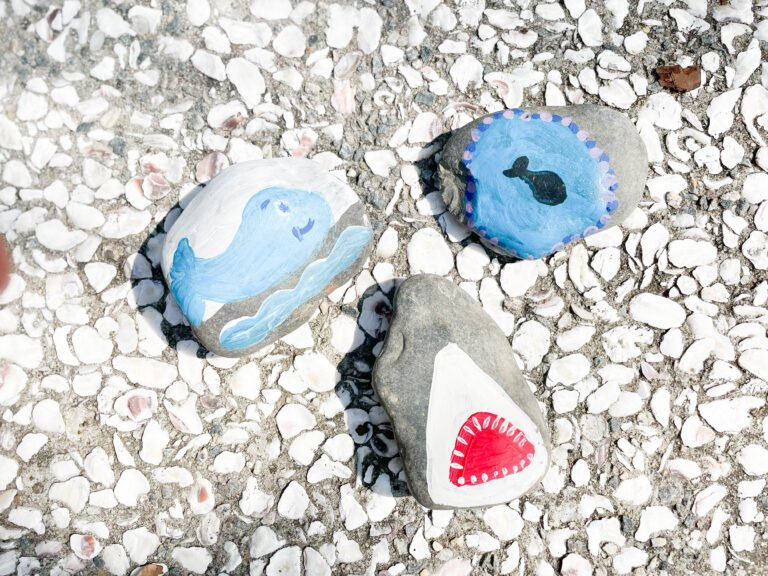 how To Paint Rocks With Sea Creatures