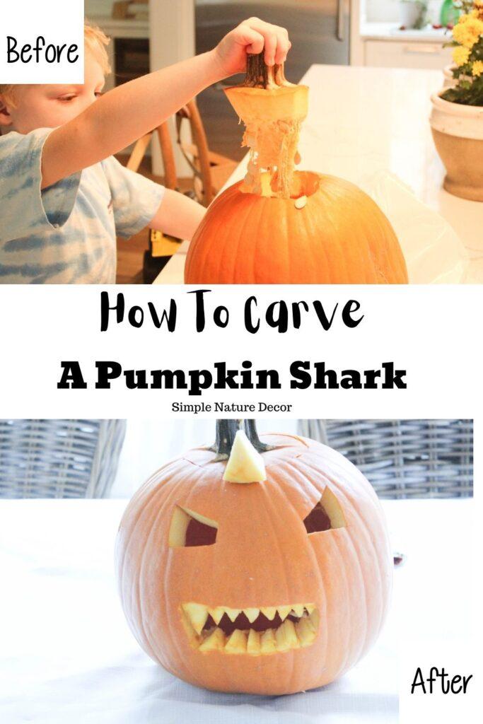 How To Carve A Pumpkin Shark