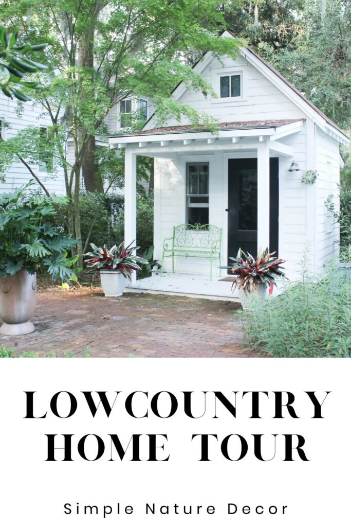 Studio:low country home tour