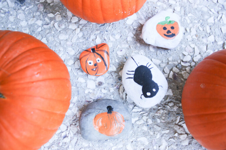 Creepy Halloween Rock Painting Ideas